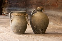 Oude ceramische schotels 1 Royalty-vrije Stock Afbeeldingen