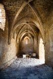 Oude Cesaria-poorten Israël stock afbeelding
