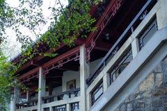 Oude Chinese Architectuur Stock Afbeeldingen