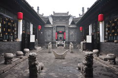 Oude Chinese architectuur Royalty-vrije Stock Foto's