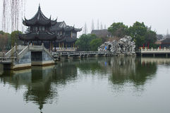 Oude Chinese Architectuur Royalty-vrije Stock Foto