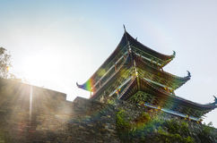Oude Chinese architectuur Royalty-vrije Stock Afbeelding
