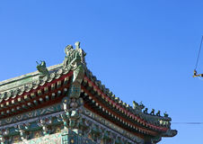 Oude Chinese Architectuur Stock Afbeelding