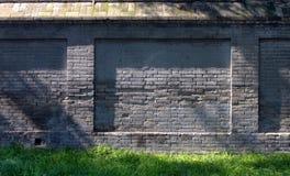 Oude Chinese bakstenen muur Royalty-vrije Stock Foto