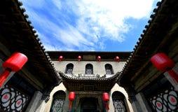 Oude Chinese Huizen Royalty-vrije Stock Afbeeldingen