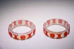 Oude Chinese jadearmband royalty-vrije stock afbeeldingen