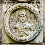 Oude Christelijke orthodoxe pictogrammen Royalty-vrije Stock Afbeelding
