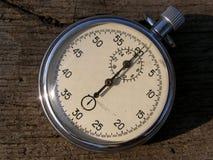 Oude chronometertijdopnemer royalty-vrije stock afbeeldingen