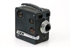 Oude cinematografiecamera Stock Fotografie