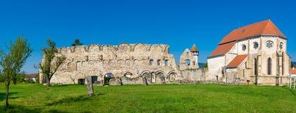 Oude cisterciënzer kerk in Carta, Roemenië Royalty-vrije Stock Foto's