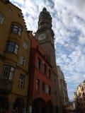 Oude clocktower stock fotografie