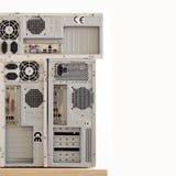 Oude computers voor elektronisch recycling Stock Afbeelding