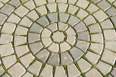Oude concentrische cirkels stock afbeeldingen