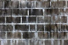 Oude concrete bakstenen muurachtergrond Stock Afbeeldingen