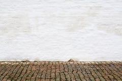 Oude concrete muur Stock Foto