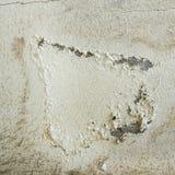 Oude concrete muur met schilverf Royalty-vrije Stock Foto