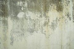 Oude concrete muur met schilverf Stock Afbeelding