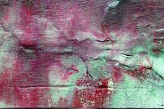 Oude concrete muur, roze tonen royalty-vrije stock afbeelding