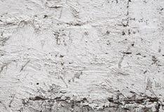 Oude concrete muurtextuur met pleister Stock Foto's