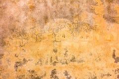 Oude concrete textuur Stock Foto