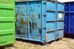 Oude container Royalty-vrije Stock Afbeeldingen