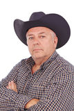 Oude cowboy Stock Foto