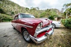Oude Cubaanse auto Royalty-vrije Stock Foto
