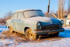 Oude dagauto Stock Afbeelding