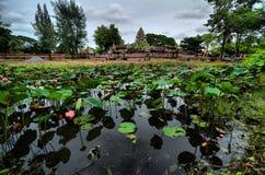 Oude daghuis in Thailand Royalty-vrije Stock Afbeelding