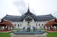 Oude dagkasteel in Thailand stock foto