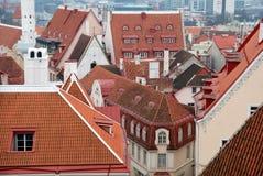 Oude daken Stock Afbeelding