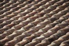 Oude dakspanen Royalty-vrije Stock Foto