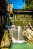 Oude dam Royalty-vrije Stock Afbeelding