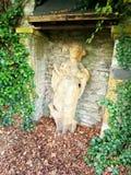 Oude Dame Castle Bielefield stock afbeelding