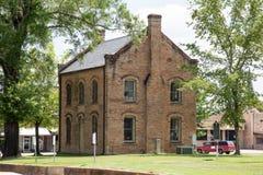 Oude de bouwgeschiedenis Texas Amerika royalty-vrije stock afbeelding