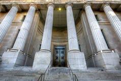 Oude de bouwvoorzijde van Montreal Stock Fotografie