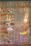 Oude de kleurenbeelden van Egypte royalty-vrije stock foto's