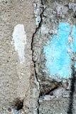 Oude de oppervlaktetextuur van de asfaltweg Stock Foto
