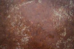 Oude de roestachtergrond en textuur van het metaalijzer Royalty-vrije Stock Foto