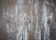 Oude de roestachtergrond en textuur van het metaalijzer Stock Afbeelding