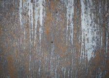 Oude de roestachtergrond en textuur van het metaalijzer Stock Afbeeldingen
