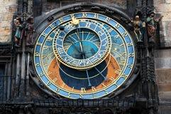 Oude de stads vierkante en Astronomische Klokketoren van Praag, Praag, Tsjechische Republiek stock afbeelding