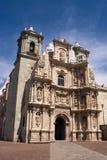 Oude de stadskerk van Oaxaca royalty-vrije stock foto
