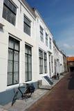 Oude de stadsmening van Holland. Stock Afbeeldingen