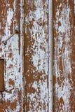 Oude de textuur van de schuur houten blauwe plank deur gedrapeerde verticaal als achtergrond Stock Foto's
