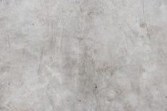 Oude de textuurachtergrond van de barst grunge witte concrete vloer, doorstane cementachtergrond stock foto