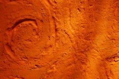 Oude de textuurachtergrond van de pleistermuur in Marrakech Stock Afbeelding