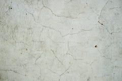 Oude de textuurachtergrond van de metaalmuur met krassen en barsten royalty-vrije stock foto