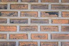 Oude de textuurachtergrond van muurbakstenen stock afbeeldingen
