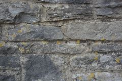 Oude de textuurachtergrond van de steenmuur royalty-vrije stock foto's